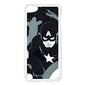 iPod Touch 5 Case White Avengers Noir FY1500915