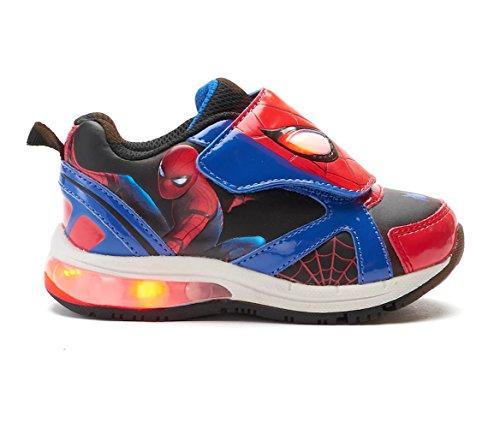 Marvel Spider-Man Homecoming Toddler Boys Light-Up Shoes (12 (M) Little Kid) -