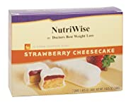 NutriWise - Strawberry Cheesecake Diet Protein Bars (7 bars)