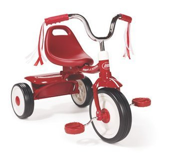 Radio Flyer` Folding Red Trike (Red)