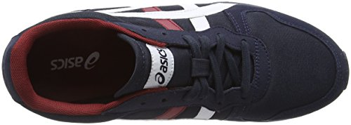 Temp Mens 5 Trainers Navy Blue Shoes Racer Asics SUwdd