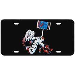 41lcLLwroXL._AC_UL250_SR250,250_ Harley Quinn License Plate Frames