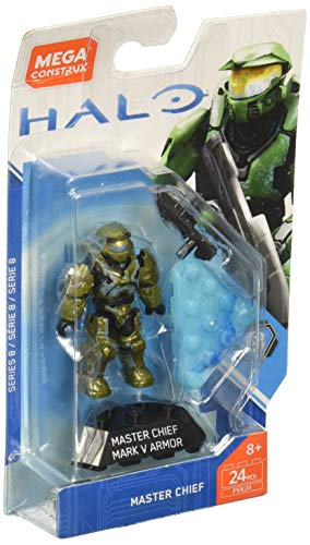 Mega Construx Halo Heroes CE Master Chief Building Set]()