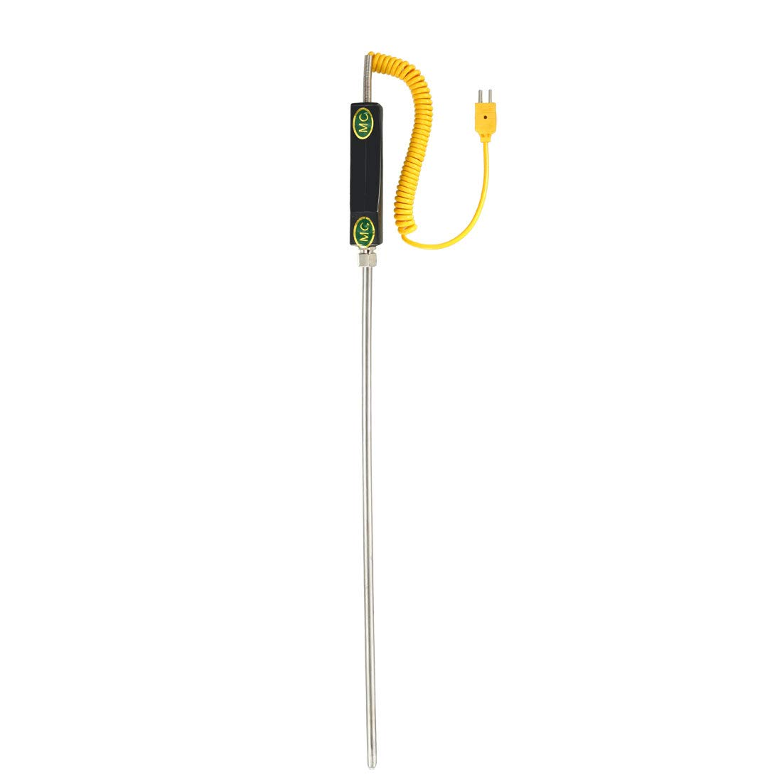 uxcell K Type Temperature Sensor Probe 3mmx800mm Thermocouple 32~1472/°F 0~800/°C