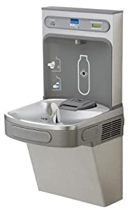 Elkay Lzs8wslk Wall Mount Drinking Fountain With Bottle