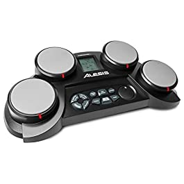 Alesis Compact Kit 4 | Portable 4-Pad Tabletop Electronic Drum Kit with Velocity-Sensitive Drum Pads, 70 Drum Sounds…