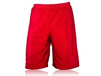 Full Force Wear Mesh Shorts Knielang, rot, Gr. S-4XL