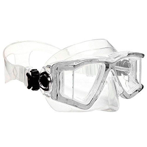 - XS Scuba Fusion 2 Jr Dive Mask - Clear