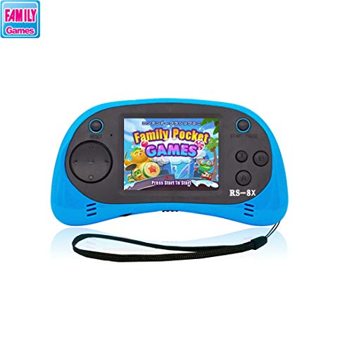 FAMILY POCKET RS-8X 16BIT Children's Handheld Game Portable Retro Game Console 2.5