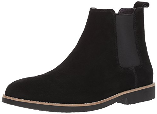 Dr. Scholl's Shoes Men's Credence Chelsea Boot, Black Suede, 10 M US by Dr. Scholl's Shoes