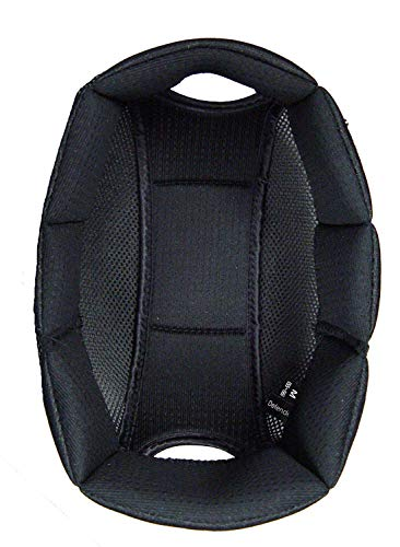 One K Defender Refit Riding Helmet Liner, Black, X-Small