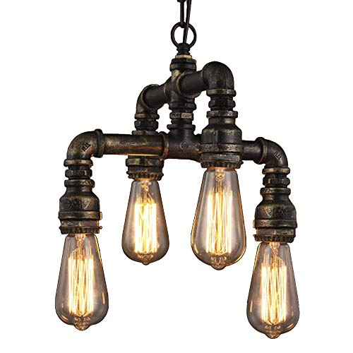 Antique Wrought Iron Pendant Lighting in US - 2