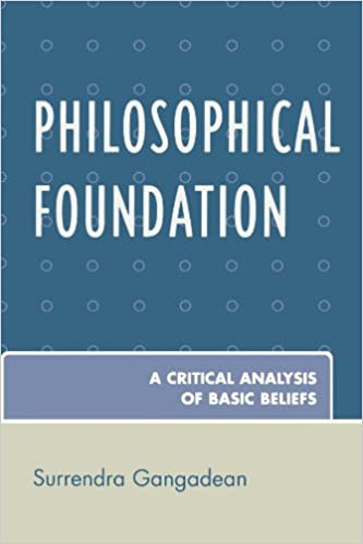 AmazonCom Philosophical Foundation A Critical Analysis Of Basic