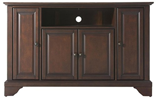 Crosley Furniture LaFayette 48-inch TV Stand - Vintage Mahogany