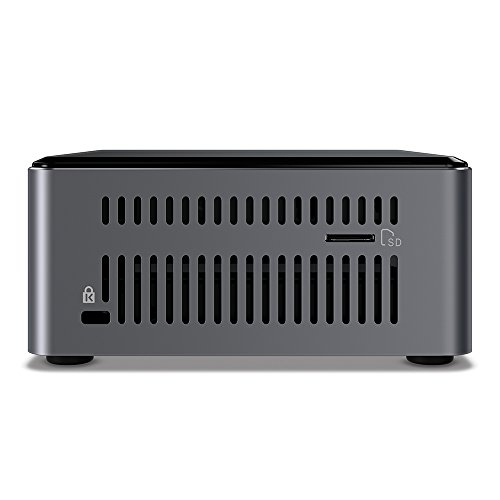 Intel NUC 7 Enthusiast A Mini PC with Windows 10 Intel Core i7 2TB HDD 32GB Optane Memory 8GB DDR4 Gunmetal (BOXNUC7i7BNHXG) by Intel (Image #6)