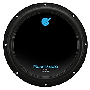 Planet Audio AC10D 1500 Watt, 10 Inch, Dual 4 Ohm Voice Coil Car Subwoofer