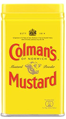 Colman's Double Superfine Mustard Powder - 1 tin, 16 oz