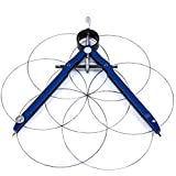 Offizeus Professional Compass for Geometry with