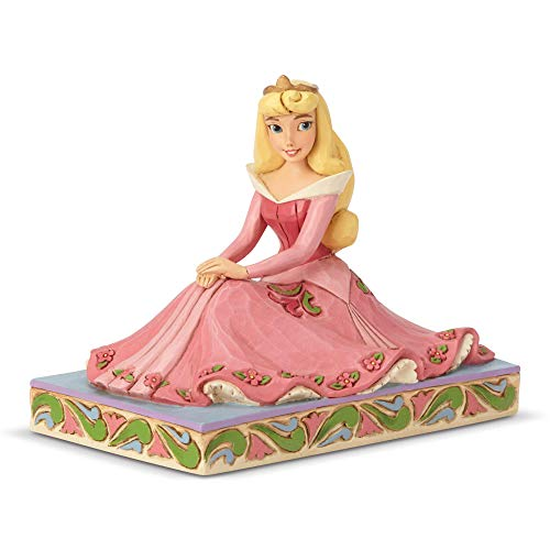 Enesco Disney Traditions by Jim Shore Aurora Personality Pose Figurine, 3.5 Inch, Multicolor (Beauty Enesco Sleeping)