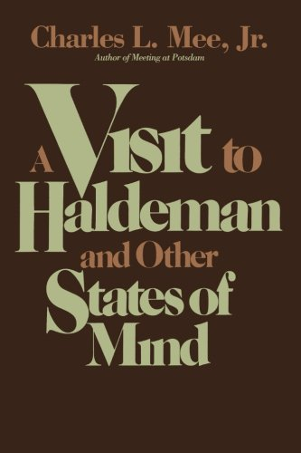 Download A Visit to Haldeman and Other States of Mind ebook