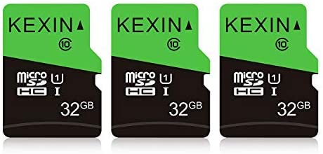 Kexin 32gb Micro Sd Karte 3 Stück Uhs I Microsdhc Computer Zubehör