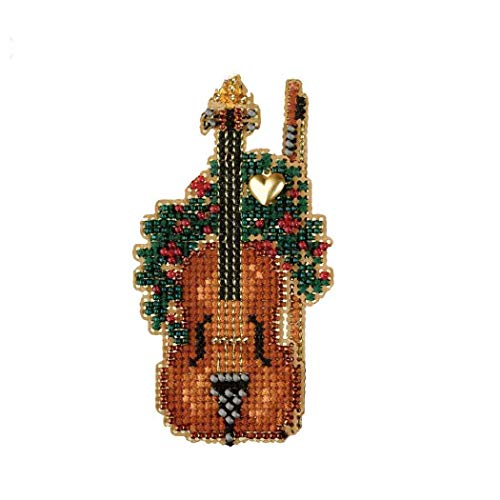 Violin Mill Hill Beaded Counted Cross Stitch Kit MH16-7301 Holiday Harmony