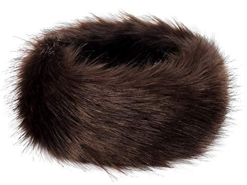 5024bbda99a Futrzane Winter Faux Fur Headband for Women and Girls - Buy Online ...