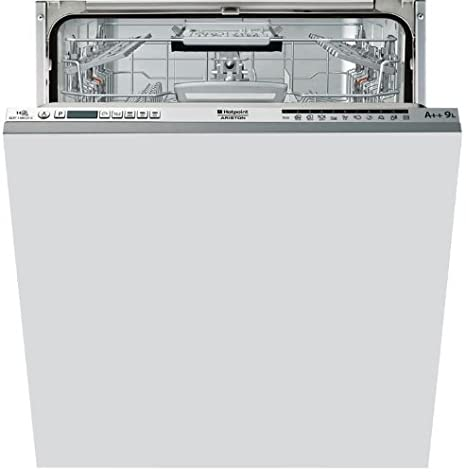 Hotpoint ELTF 11M121 C EU Totalmente integrado 14cubiertos A++ lavavajilla - Lavavajillas (Totalmente integrado, Acero inoxidable, Botones, 14 ...