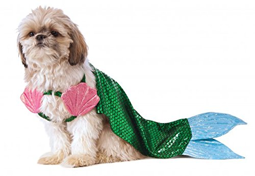 Sea Dog Costumes (Rubie's Mermaid Dog Costume, Medium)