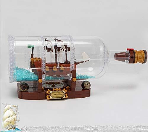 アイデア ボトルシップ Ship in a Bottle 21313 風 LEGO互換品 レゴ風