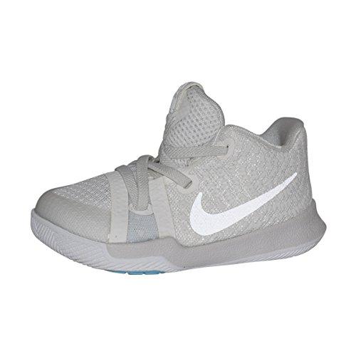 Blue Hyper Razor (NIKE Infant Kyrie 3 Basketball Shoes (Ivory/Pale Grey-Light Bone, 10C))