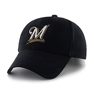 "Milwaukee Brewers 47 Brand MLB Youth ""Basic MVP"" Structured Adjustable Hat"
