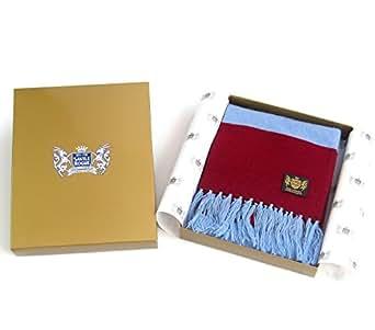 Claret Savile Rogue y azul King bufanda deportiva de en los siguientes colores Cachemira unidades Aston Villa - 180 cm diseño de larga - 20 cm extra anchos para hombre
