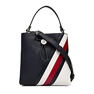 Tommy Hilfiger TH Core Bucket bag dark blue
