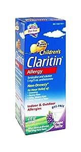 Childrens Claritin, ages 2- 6 Allergy, Non Drowsy (2 X 4 fl oz Bottle)