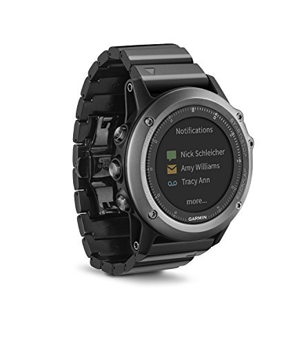 Garmin Fenix 3 GPS Watch Sapphire (Certified Refurbished) by Garmin