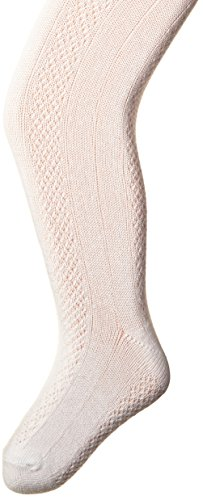Carters Girls Textured Tights White