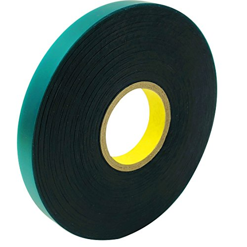 (Ugold 8mil Thick 150 Feet x 1/2'' Stretch Tie Tape Plant Ribbon Garden Green Vinyl Stake)
