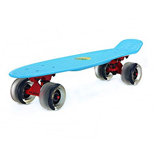 PUENTE Complete Cruiser Skateboard Inch