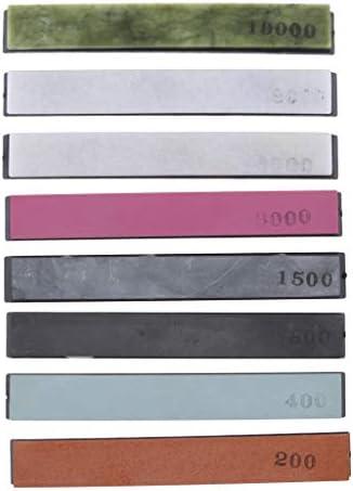 8個 高品質 研磨 砥石 研ぎ器 精密工具