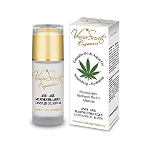 Anti Ageing Serum with Hemp Oil & Marine Colla...
