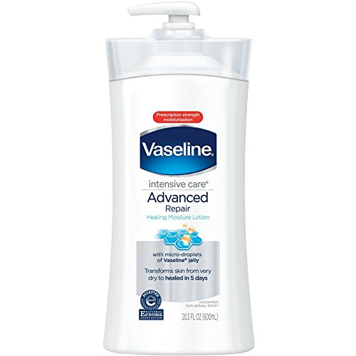 - Vaseline Intensive Care Body Lotion, Advanced Repair Unscented, 20.3 oz