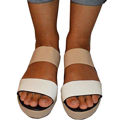 Ciara - Sandalias de vestir de Material Sintético para mujer 42 - Blue/Multy
