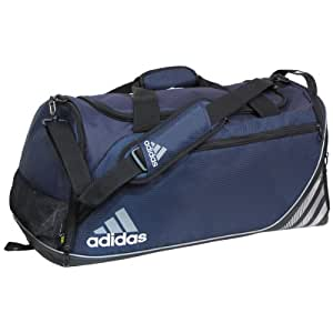 adidas Team Speed Small Duffel, Collegiate Navy (11 x 21 x 11-Inch)
