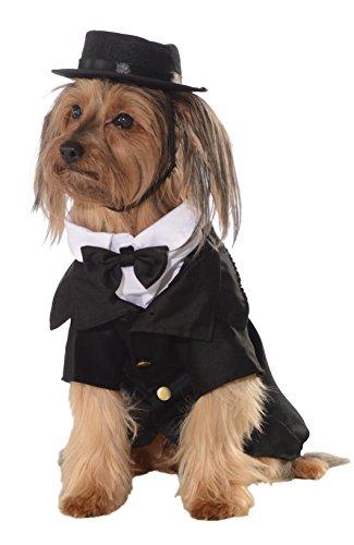 Rubie's Dapper Dog Pet Costume, (Dapper Halloween Costumes)