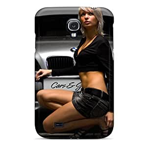 Ultra Slim Fit Hard GAwilliam Case Cover Specially Made For Galaxy S4- Bmw Girl