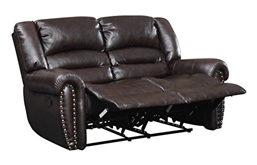 Glory Furniture G685A-RL Reclining Loveseat, Cappuccino