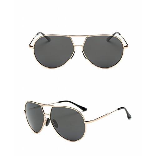 25768de006 ... Lente Gris Negro Marco Gris. 30% de descuento Gafas de Sol Polarizadas para  Hombres Gafas de Sol de Moda Esqueletos