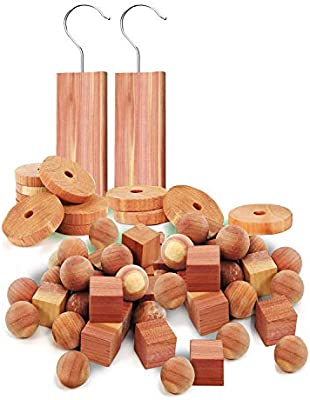 Cedar Wood Natural Moth /& Odour Piece Hanging Clothes Insect Deterrent Repellent