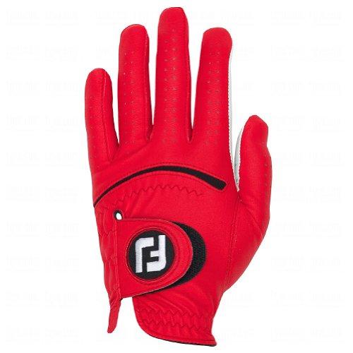 FootJoy Spectrum Men's Golf Glove Left (Fits on Left Hand) - Red CADET L